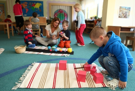 International Montessori School of Prague angličtina ve školce